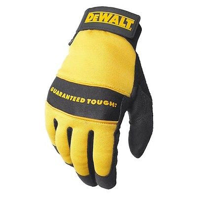 Dewalt DPG20 All Purpose Synthetic Leather Utility Work Gloves Reinforced Palm