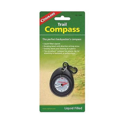 Coghlan's #1235 Backpacking Hiking Trail Compass Directions Camping Hiking Scout