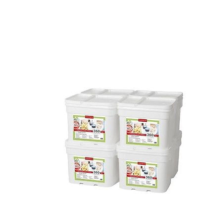 2880 Serving Freeze Dried Foods Survival Emergency Storage Bucket- Lindon Farms