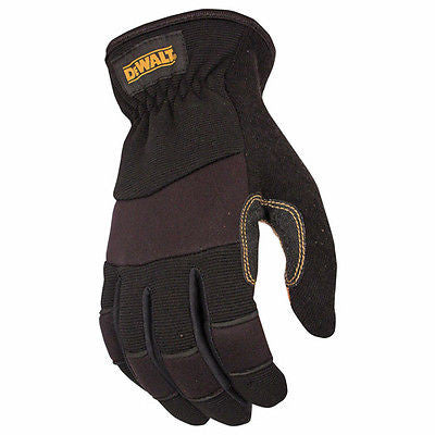 Dewalt DPG212 Performance Driver Hybrid Job Safety Work Gloves Premium Leather