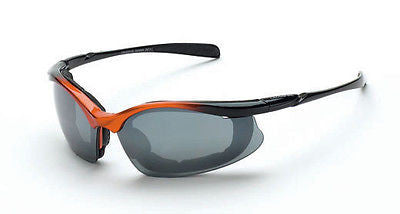 Radian Crossfire Concept Safety Glasses Eyewear Mirror Coated Lens 873 ANSI Z87+