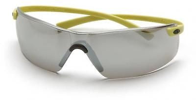 Pyramex Montego SY5370S Silver Mirror Lens Safety Glasses Flexible Frame Eyewear
