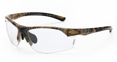 Crossfire Sunglasses AR3 Woodland Camo Frame HD Clear Lens 16144 Eyewear Safety