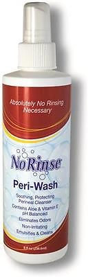 Cleanlife No Rinse Body Wash 8 Oz. for Self Washing- Case of 12
