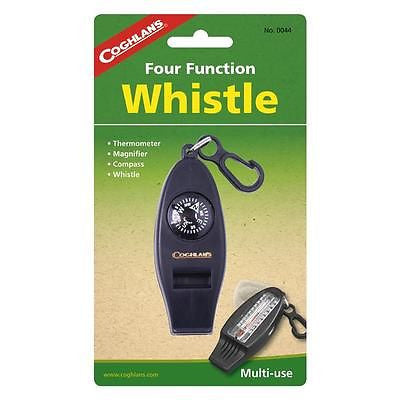 Coghlan's Coghlans 0044 Four Function Whistle Compass Magnifier Survival Tool