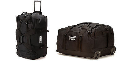 Snugpak Roller Kit Monster 120L Tactical Military Cargo Wheeled Bag Duffle 92180