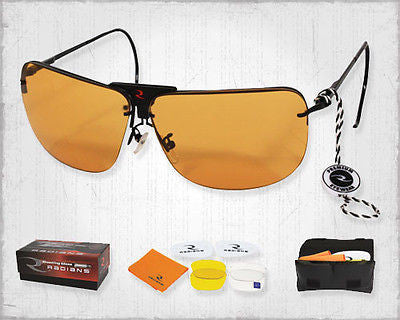 Radians RSG-3 Interchangeable Lens Shooting Glasses Eye Care Protection Gear