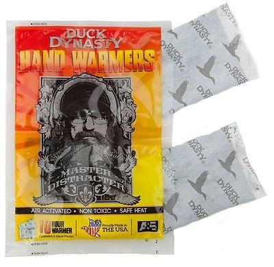 Duck Dynasty Si Robertson Hand Warmers Made in USA Hand Warmer Hunting Camping