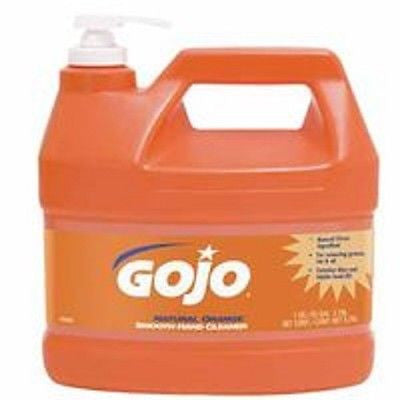 GoJo 1 Gallon Natural Orange Citrus Scented Smooth Lotion Hand Cleaners 0945-04