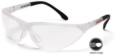 Pyramex Rendezvous Clear Lens Anti Fog Safety Glasses SCC2810ST Job Eyewear ANSI