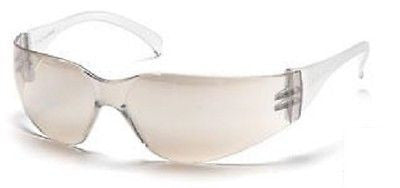 Pyramex Intruder S4180S I/O Mirror Lens Job Safety Glasses Sport Eyewear ANSI