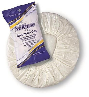 Cleanlife 02001- No Rinse Shampoo Cap- No Water Needed to Get Clean H