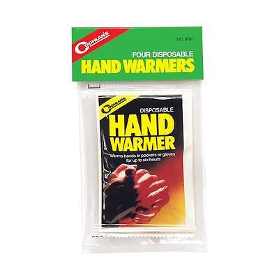 Coghlan's Coghlans 8797- 6 Hour Disposable Hand Warmers- Glove Hunt Camping Cold