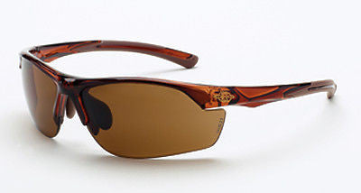 Crossfire Sunglasses AR3 Crystal Brown Frame HD Brown Lens 161129 Eyewear Safety
