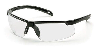 Pyramex Ever Lite Clear Polycarbonate Safety Glasses UV Sun Protection ANSI