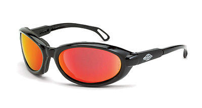 Radians Crossfire MK12 Safety Glasses HD Red Lens Polycarbonate 1169 ANSI Z87+