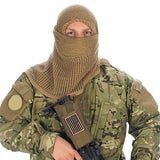 Black Face Veil Camouflage Tactical Conceal Equipment Hunting Military Camcon