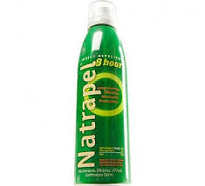 AMK Natrapel 8 Hr DEET FREE Tick/Insect Bug Repellent 6 oz Spray Camping Hiking