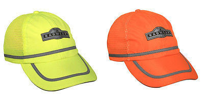 Radians Hi-Viz Safety Baseball Cap Ball Hat Vented Mesh Panels Construction BC-G