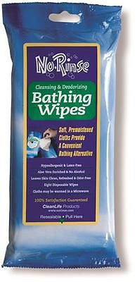No Rinse Outdoor Bathing Wipes Sanitary Waterfree Cleaning Personal Hygiene NEW