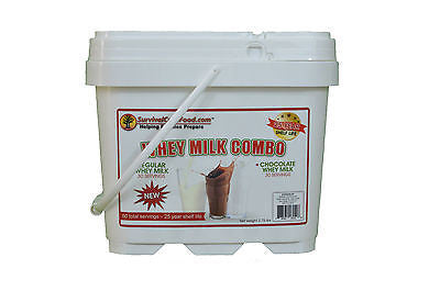 Survival Cave Food Whey Milk Combo Emergency Dried Long Term Food Storage Prep