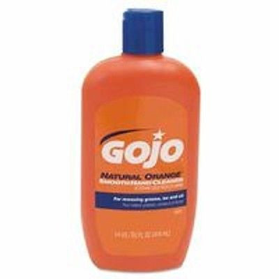 GoJo 14oz Natural Orange Citrus Scented Smooth Lotion Hand Cleaners 0947-12