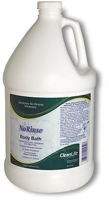 Cleanlife Waterless No Rinse Body Bath Cleanser 1 Gallon