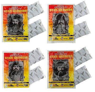 Duck Dynasty Hand Warmers 4 Pack Made in USA Hand Warmer Hunting Camping Hiking