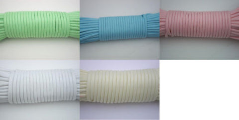 Glow in the Dark Para cord- 100 Ft - Survival, Tying, Bracelets, Camping, Rope