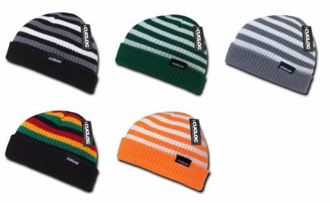 Kilimanjaro Striped Pattern Beanie Toboggan Cap Winter Head Wear Hat Cuglog K005