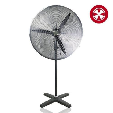 Industrial Garage 30-inch Commercial Pedestal Floor High Velocity Fan New