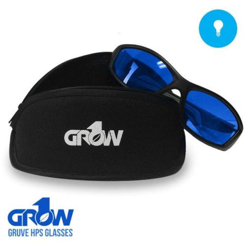 Grow1 GRUVE HPS Glasses Grow Room Ultra Violet Eliminators STOP LIGHT HEADACHES