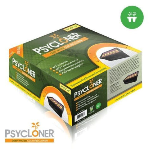 PsyCloner 24 Site Deep Water Culture Cloner Hydroponic Plants Cutting Gardening