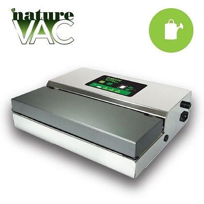 NatureVAC Commerical Vacuum Sealer foods vegetables meats herbs storage marinate