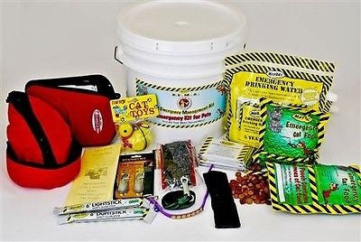 "Mayday 35 Piece """"CATastrophy""  Pet Survival Kit For Cats KT-CT1"
