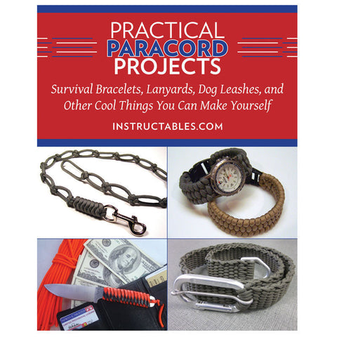 Practical Paracord Projects Book Make Survival Bracelets Lanyards Dog Leash Etc