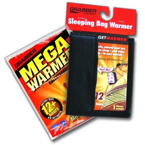 Grabber Heated Sleeping Bag Travel Warmer