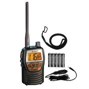 Cobra MR HH125 -3 Watt Waterproof Hand-Held Marine VHF Radio