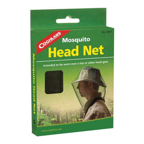 Coghlan's #8941 Head Net Mosquito Pest Face Netting Cover