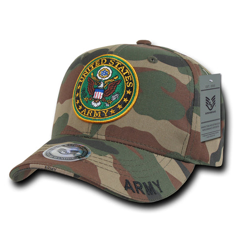 Camouflage Ball Cap Baseball Hat Military US Marine Army Rapdom 940