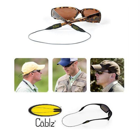 CABLZ Sunglass Leash 14 Inch Stainless