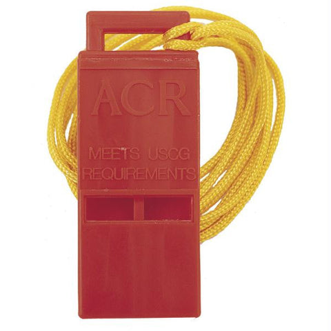 "ACR Survival Res-Q™ Whistle w-18"" Lanyard"