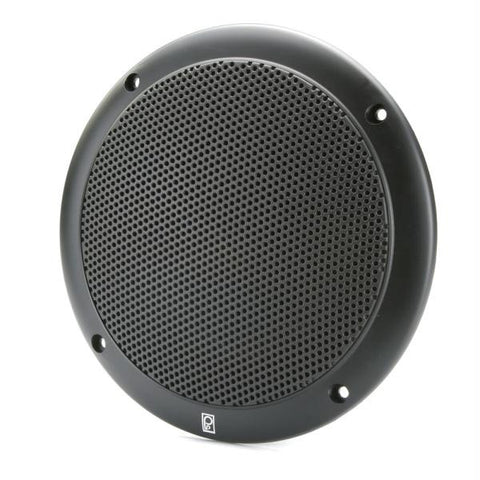 "PolyPlanar 5"" 2-Way Coax-Integral Grill Speaker - (Pair) Black"