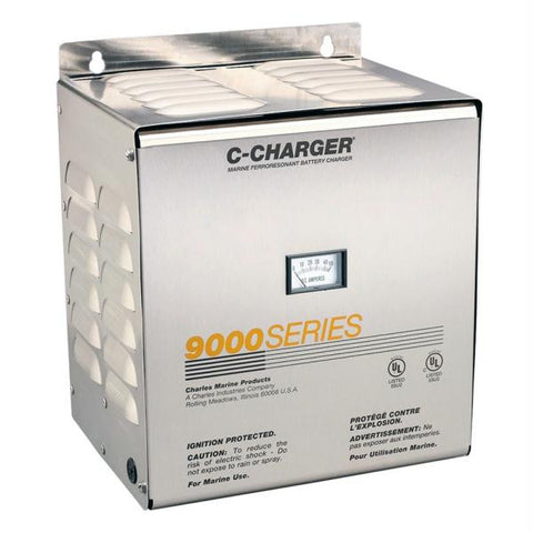 Charles 20 Amp, 24V, 120VAC 9000 Series Charger - 3 Bank