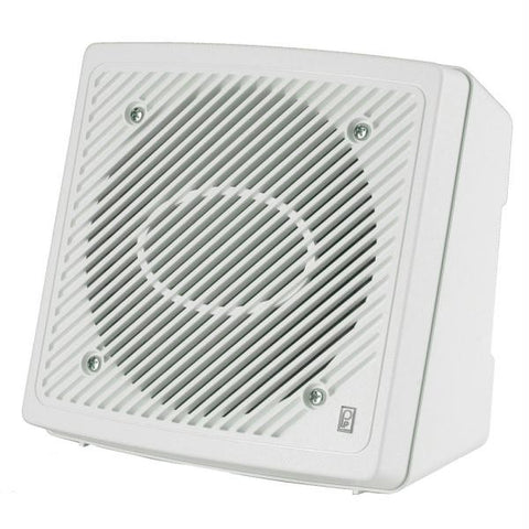 "PolyPlanar 5.25"" Premium Enclosed Flush 2-Way Marine Speaker - (Pair) White"