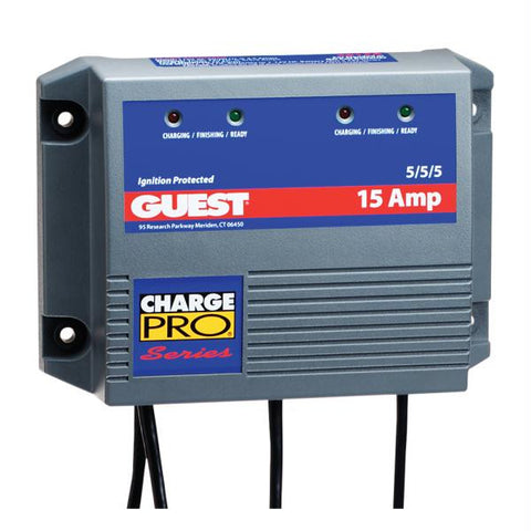 Guest 15 Amp 3 Battery Application Charger