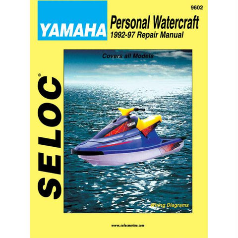 Seloc Service Manual - Yamaha - 1992-97
