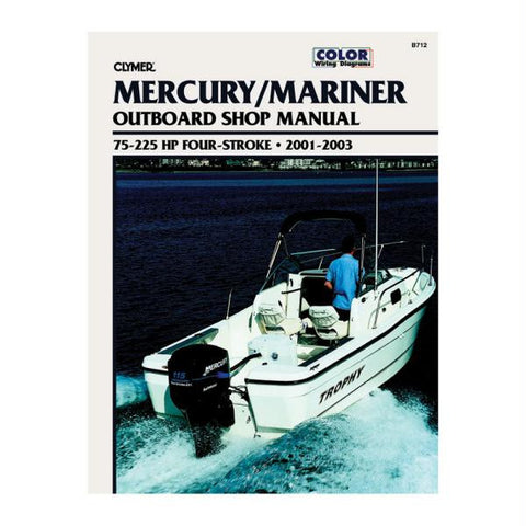 Clymer Mercury-Mariner 75-225 HP 4-Stroke Outboards (2001-2003)