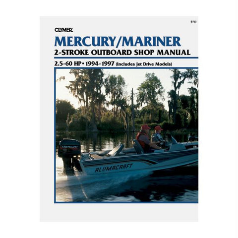 Clymer Mercury-Mariner 2.5-60 HP Two-Stroke Outboards (Includes Jet Drive Models) (1994-1997)