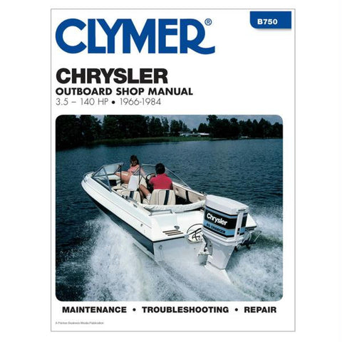 Clymer Chrysler 3.5-140 HP Outboards (1966-1984)